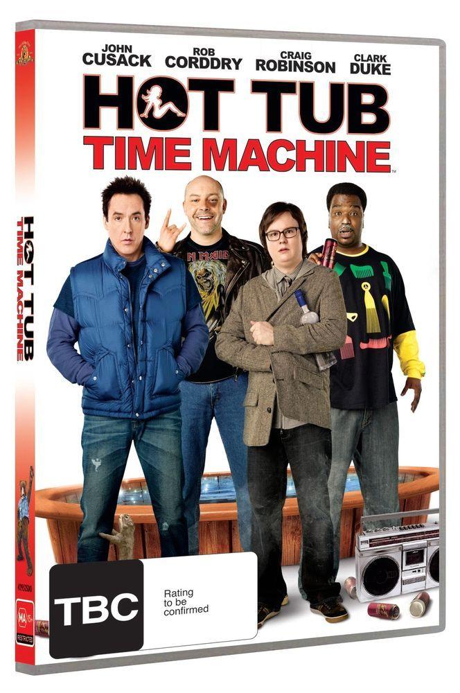 HOT TUB TIME MACHINE **** DVD **** REGION 4
