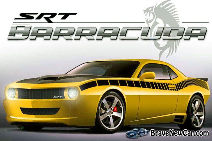 2015 Dodge Barracuda SRT rendering