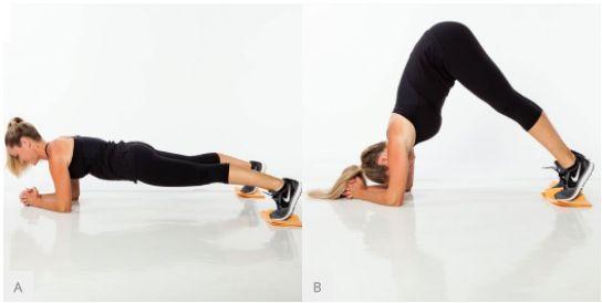Toto je superrychlé cvičení zaměřené na střed těla a oblast břicha, které můžete provádět kdykoli a kdekoli pro posílení a zeštíhlení svého pasu. Ti zvás, kteří jsou posedlí plochým břichem, je čas se rozloučit sproblémy a vyzkoušet tuto novou sestavu. Zde je rychlá série pohybů pro kardio a silový trénink, kterou můžete provádět kdykoli máte volnou chvíli a chcete se věnovat posilování břišních svalů. 1 Plank na předloktí sdisky Začněte vpozici prkna na předloktí, zatněte břicho a…
