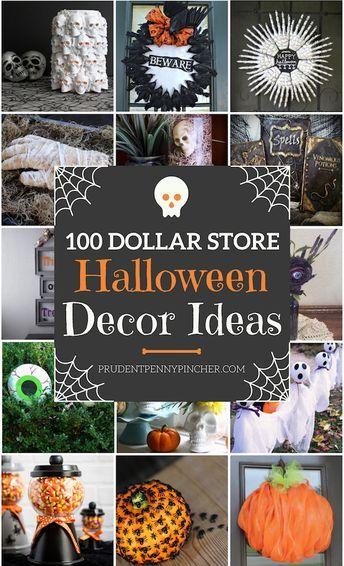 100 Dollar Store Halloween Decorations