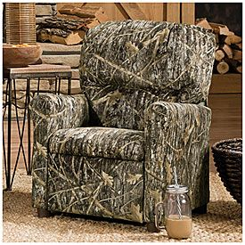 Flexsteel Sofa Camouflage Kiddie Recliner at Big Lots BigLots