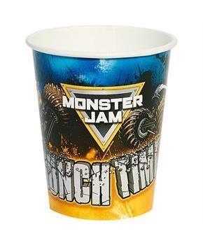 PartyBell.com - Monster Jam 9oz Paper Cups (8)