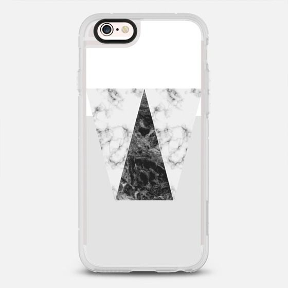 Grey Marble - New Standard iPhone 6/6S Case in Clear and Clear by GRAPHIC BY D #phonecase   @casetify