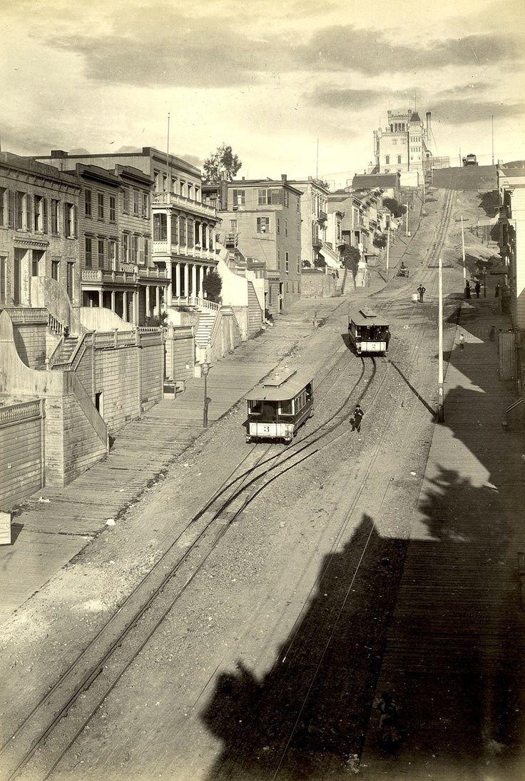 back-then:  Telegraph Hill, San Francisco  c.1890