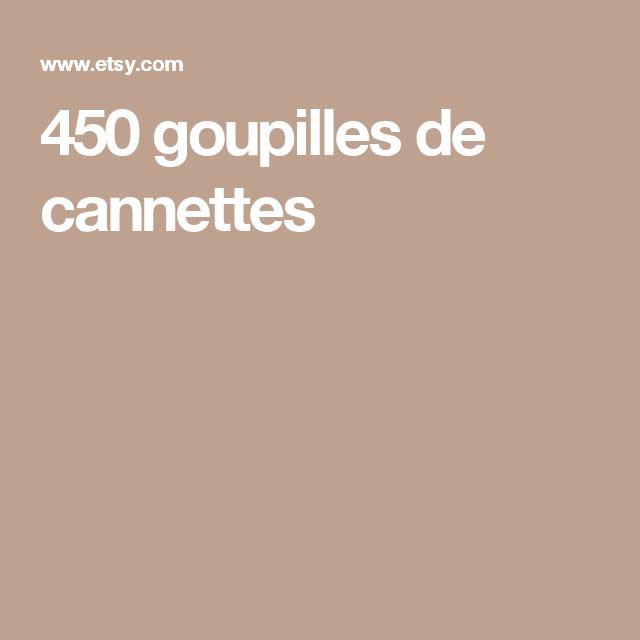 450 goupilles de cannettes