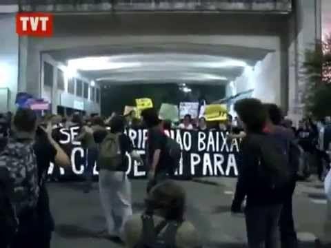 Vem Pra Rua / Vem vamos pra rua! Protesto / Manifestação em São Paulo (Junho de 2013) - YouTube #vemprarua #semviolencia
