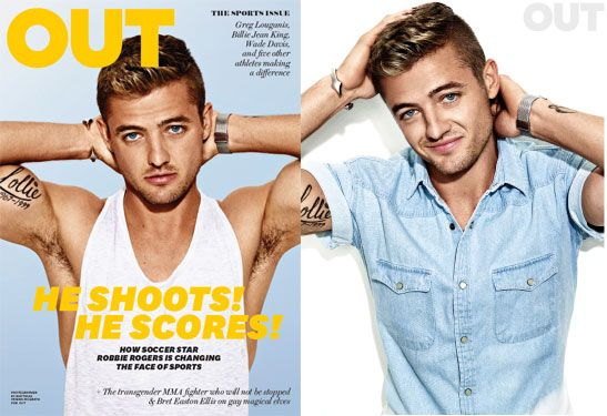 Robbie Rogers: The History Maker | Out Magazine    http://robbiehrogers.com/blog/2013/2/23/the-next-chapter