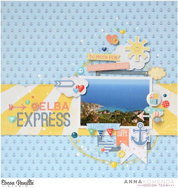 Two layouts | Hello sunshine ans Free spirit collections | Anna Komenda | Cocoa Vanilla Studio