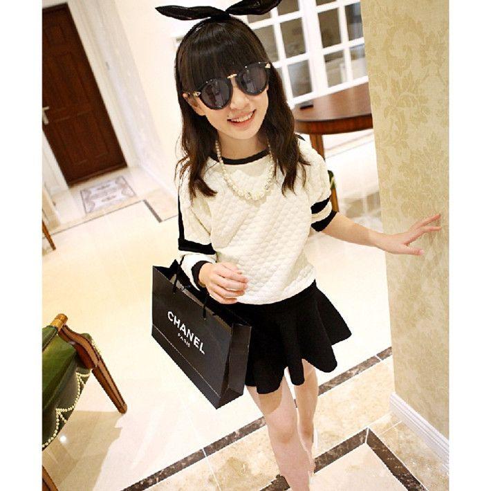 2015 корейский Стиль весна и осень с длинным рукавом Повседневная рубашка хлопок Бренд блузка для девочек лучшие детские рубашки дешево