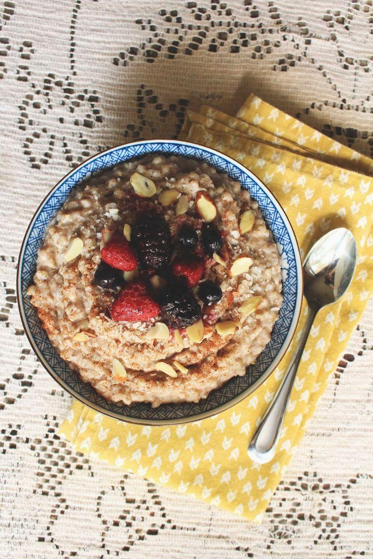 Hey Wanderer: recipe: breakfast buckwheatBreakfast Ideas, Brunches Yum, Breakfast Time, Breakfast Buckwheat, Hey Wanders, Gluten Free, Grains Hot, Buckwheat Hey, Brilliant Brunches