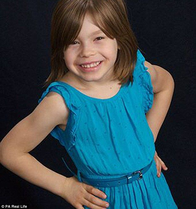 All smiles: Today, at age eight, Avery lives happily as a girl. But when she was younger and being and being raised as a boy, she was miserable with her male genitalia