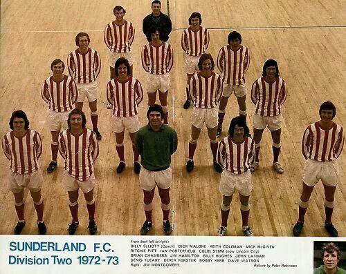 Sunderland FC Division Two 1973-73