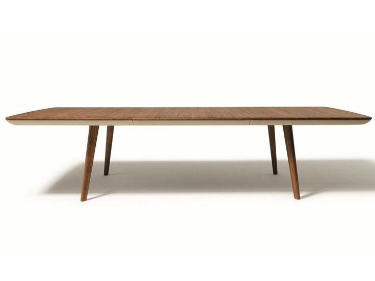 FLAYE Ausziehbarer Tisch by TEAM 7 Natürlich Wohnen Design Jacob Strobel