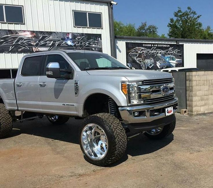 2017 Ford Super Duty lifted
