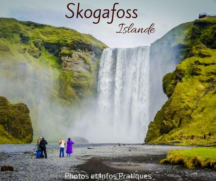 Sud Islande lieux d intérêt - Cascade Skogafoss Islande
