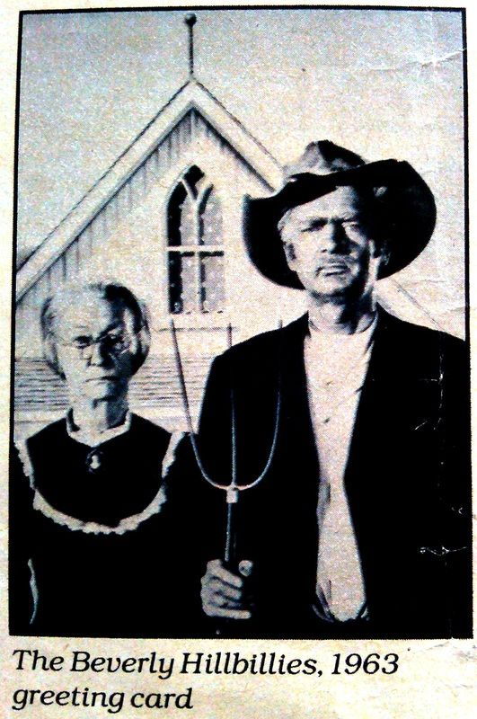 parodies of American Gothic | Gothic Parodies based on famous People or Characters - American Gothic ...