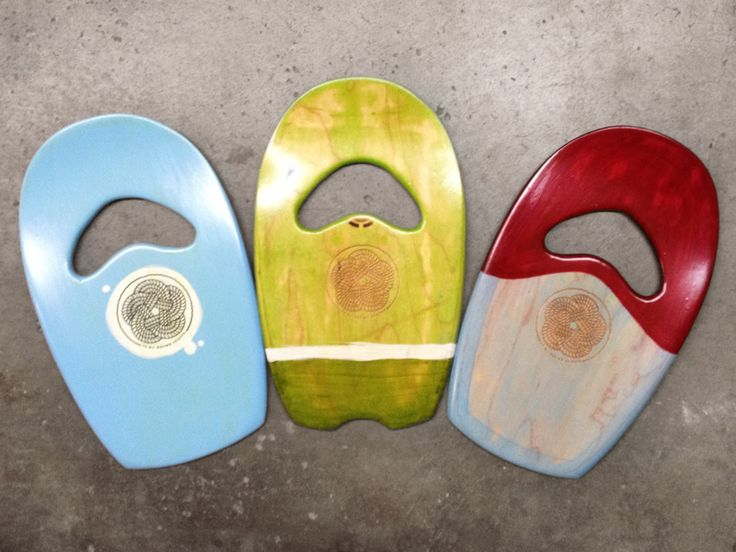 Upcyled bodysurfing hand planes from old skateboard decks. 100% Handcrafted in San Clemente, CA.