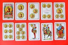 Significado de las cartas de la baraja española en el tarot: Los oros
