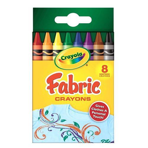 """Crayola 8-Count Fabric Crayons - Crayola - Toys """"R"""" Us"""