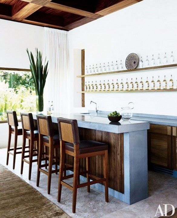 8 Incredibly Chic Home Bars To Inspire You Part 65