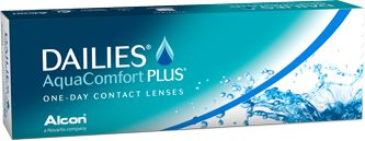 Daily disposable contact lenses are the safest, healthiest way to wear contact lenses. DAILIES® AquaComfort Plus® Contact Lenses are a great daily wear lens also available in a multifocal (decrease dependence on reading glasses) and in a toric (to correct for astigmatism)