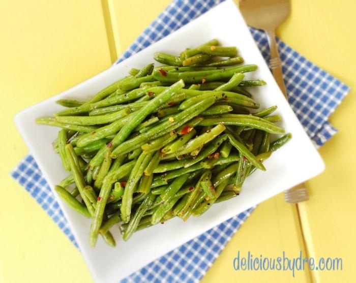 caramelized green bean - #greenbeans