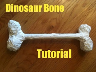 How to make dinosaur bones