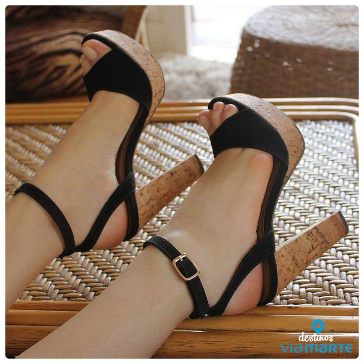 salto alto - black - heels - Ref. 14-21702 - Alto Verão 2015