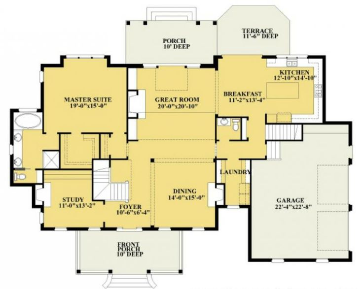 9 best House floor plans images on Pinterest House layouts Floor
