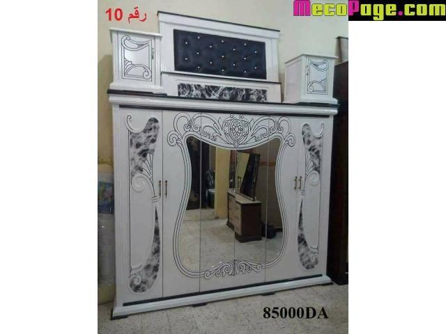 chambre a coucher bois rouge prix algerie - 7/10   Chambre à ...