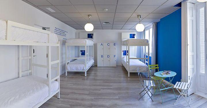 U Hostel, Madrid hotels and restaurants
