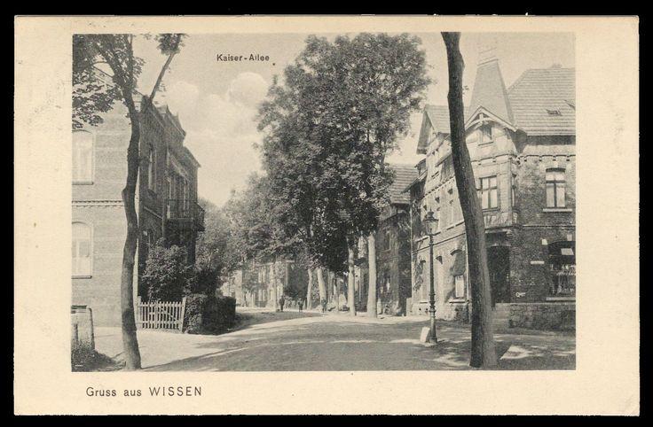 links: süße Ecke - rechts: Gasthaus Fuchs (Ehlgens Haus, später Erich Solbach) um 1900