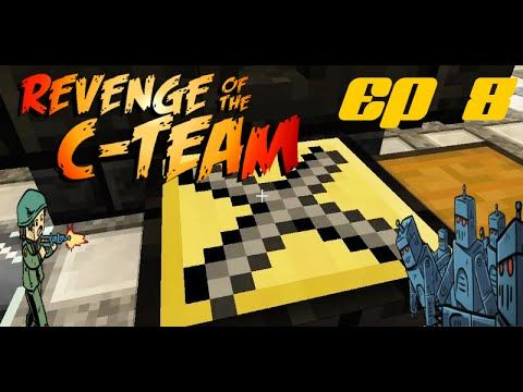 Minecraft Adventures- Revenge of the C-team SP EP 8- 1ST TINKERS TOOL! N...