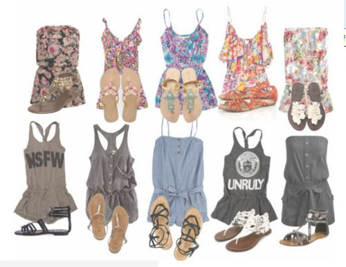 I want all these! :(Fashion 3, Summer Fashion, Rompers, Outfit, Summer Lovin, Spring Summe, Summer Clothes, Summer Clothing, Dreams Closets