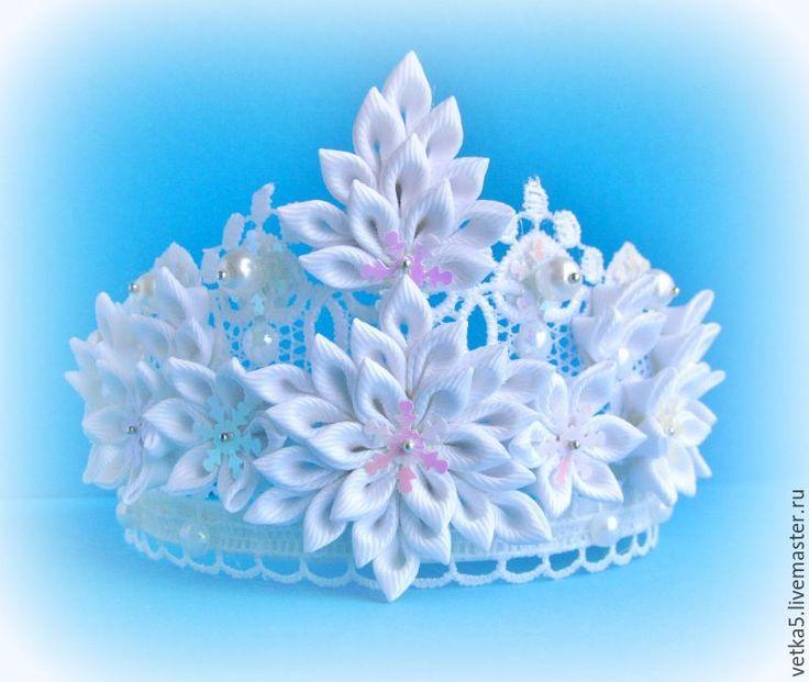 Купить Новогодняя корона (4) - белый, корона для фотосессии, корона, корона для девочки, корона для принцессы
