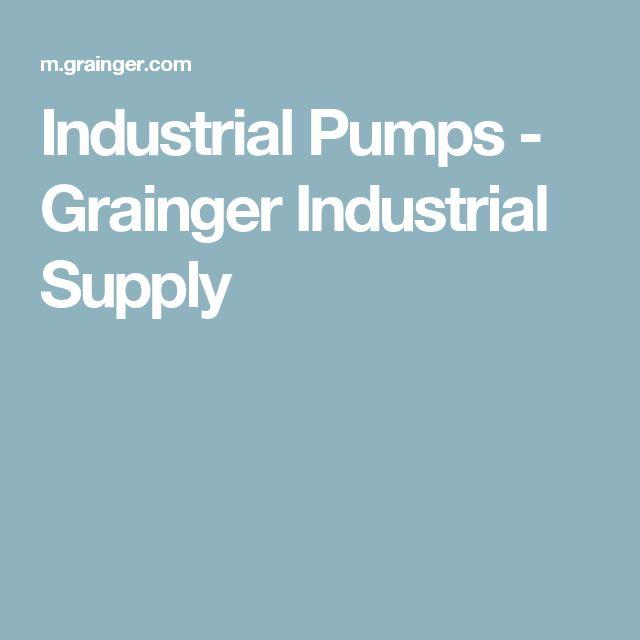Industrial Pumps - Grainger Industrial Supply