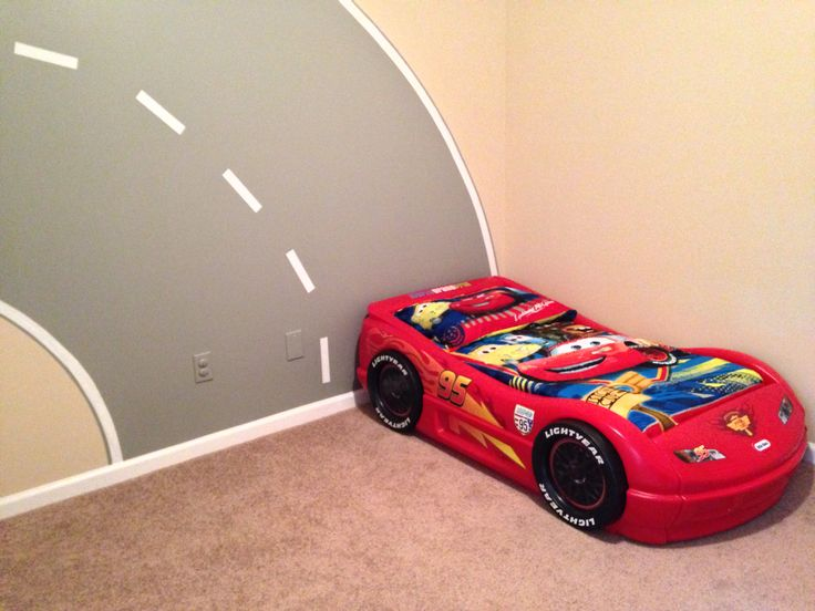 33 best disney room images on pinterest child room room for Disney car bedroom ideas