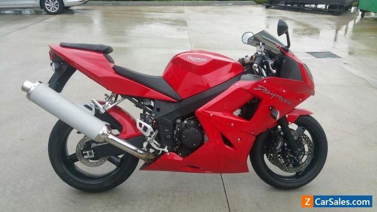 TRIUMPH DAYTONA 600 2004 MODEL - ROAD BIKE / MOTORCYCLE #triumph #daytona600 #forsale #australia