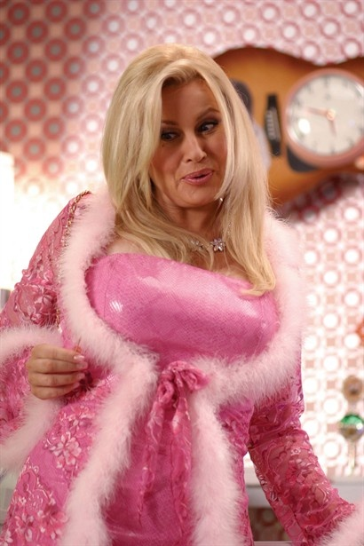 Jennifer Coolidge...funny, flirty and fabulous! I just love her!