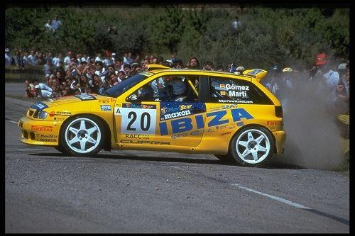 Oriol Gomez/Marc Marti Seat Ibiza Kit-car Catalunya