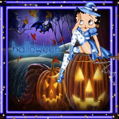 Betty BOO!! Halloween