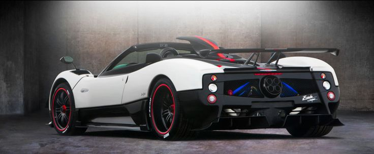 Top 10 Fastest Car In The Word - 10. Pagani Zonda Cinque Roadster ...