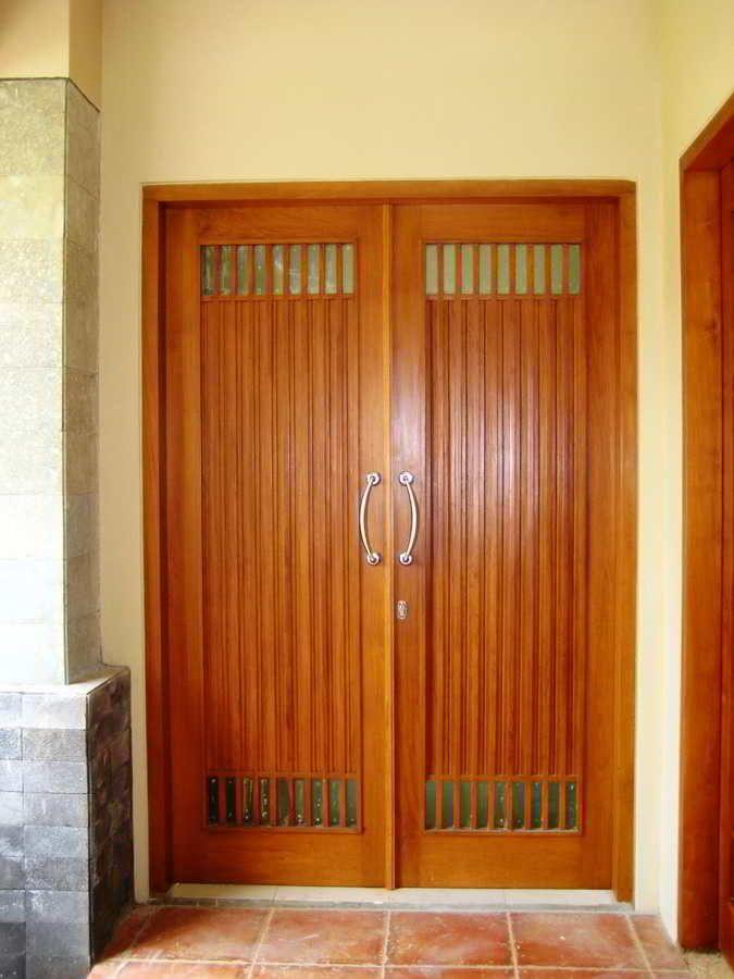Model Desain Pintu Utama Rumah Modern Elegan