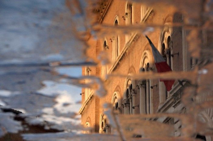 Reflection of San Gimignano by Jon Buckland | onemillionphotographers