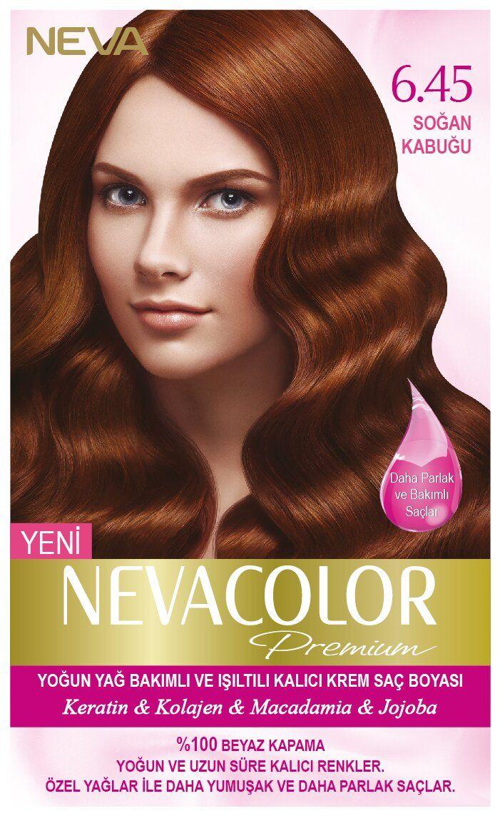 Neva Color Premium Sac Boyasi 6 45 Sogan Kabugu Sac Sac Boyasi Kolajen