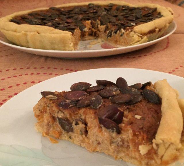 Quiche di zucca e tofu – Vegan blog – Ricette Vegan – Vegane – Cruelty Free