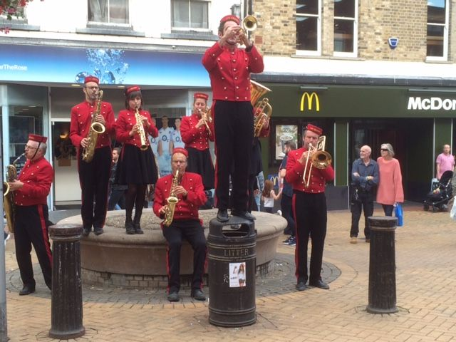 Les Grooms in Chelmsford City Centre