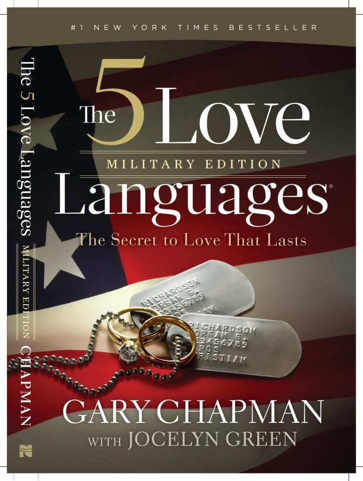 The 5 Love Languages: Military Edition by Dr. Gary Chapman with Jocelyn Green. Tentative release date: September 2013. Written with a unique focus towards military marriages.