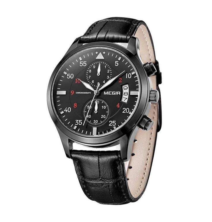 Watch Hub Co. - Montre / All Black Leather Watch