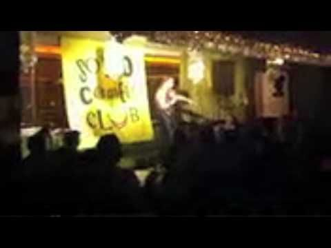 April 2012 marriage proposal live on stage at Soho Comedy Club